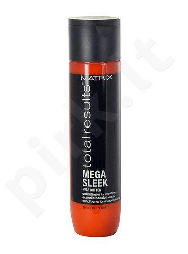 Matrix Total Results Mega Sleek Shea Butter kondicionierius, kosmetika moterims, 300ml