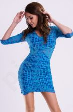 Emamoda suknelė - lazūrinė 12005-1