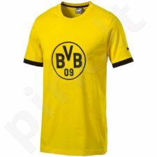 Marškinėliai Puma Borussia Dortmund Badge Tee M 750122011