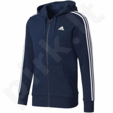 Bliuzonas  Adidas Essentials 3 Stripes Full Zip Hoodie French Terry M S98787