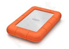 Išorinis diskas LaCie Rugged Mini 2.5'' 2TB USB3, Atsparus smūgiams