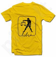 """Marškinėliai su zodiako ženklu """"Svarstyklės"""""""