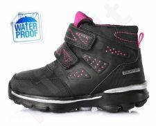 D.D. step juodi batai 30-35 d. f651703cl