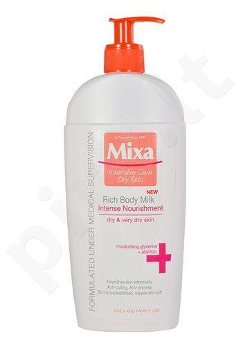 Mixa Rich kūno pienelis, kosmetika moterims, 400ml