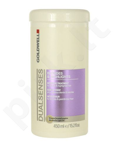 Goldwell Dualsenses Blondes Highlights Intensive Treatment, kosmetika moterims, 450ml