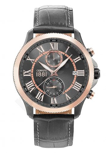 Laikrodis CERRUTI MONTEROSSO CRA152SUR61GY