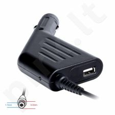 Digitalbox automob. mait. šaltinis 19V/4.74A, 90W kišt 5.5x1.7mm Acer | USB