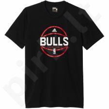 Marškinėliai Adidas Summer Run Shooter Tee Chicago Bulls M AH5049