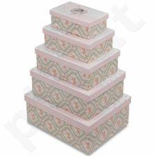 Dekoratyvinės dėžutės, 5 vnt. 104084