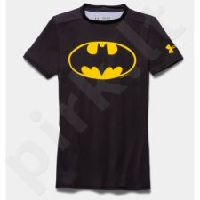 Marškinėliai Under Armour Compression Alter Ego Batman Junior Kompressionsshirt 1244392-006