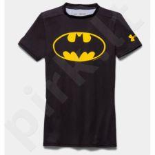 Marškinėliai Under Armour Compression Alter Ego Batman Junior Kompressionsshirt 1244392-006