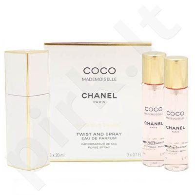 Chanel Coco Mademoiselle, tualetinis vanduo moterims, 3x20ml