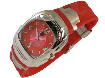 Kvarcinis laikrodis Siegar SUG-097 raudonas
