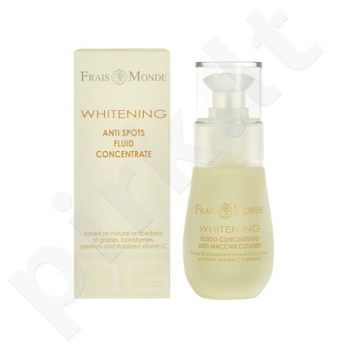 Frais Monde Whitening Anti Spots Fluid Concentrate, kosmetika moterims, 30ml