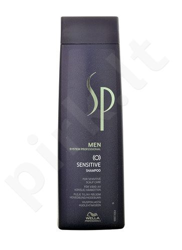 Wella SP Men Sensitive šampūnas, kosmetika vyrams, 250ml