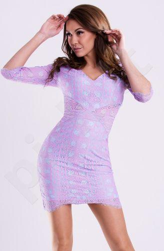Emamoda suknelė - levandų 12005-2