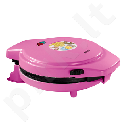 Princess 132700 Magic Bakery, With 3 grillplates for Donuts, waffles and popcakes, 1000W, Pink