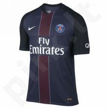 Marškinėliai futbolui Nike Vapor Match PSG M 776926-410