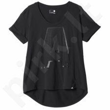Marškinėliai Adidas Letter A Graphic Tee W AY4976