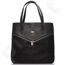 Rankinė moteriška shopper bag FELICE Verona Due juoda