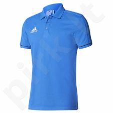 Marškinėliai futbolui polo Adidas Tiro 17 M BQ2683