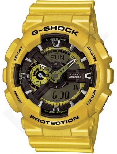 Laikrodis CASIO G-SHOCK GA-110NM-9ADR LIMITED MODEL Shock & Magnetic resistant Auto led World time 29 zon 4 daily s Snooze Hourly Time Signal Countdown Timer Full auto-calendar WR 200mt **ORI