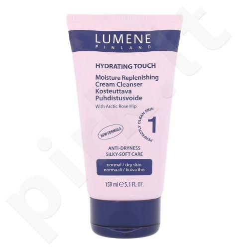 Lumene Hydrating Touch drėkinantis kremas valiklis, kosmetika moterims, 150ml