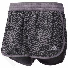 Šortai sportiniai Adidas 100M Dash Knit Short Printed W BP6898