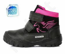 D.D. step juodi batai 36-40 d. f651912cxl