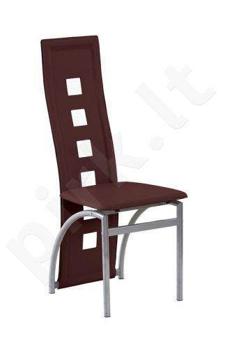 Kėdė K4-M, tamsiai rudos sp.