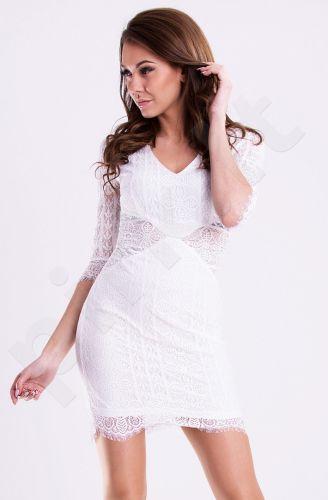 Emamoda suknelė - balta 12005-3
