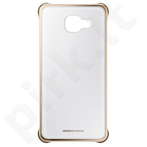 Samsung Galaxy A5 2016 skaidrus dėklas QA510CFE auksinis