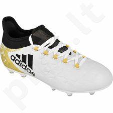 Futbolo bateliai Adidas  X 16.1 FG Jr BB3860