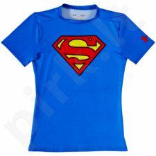 Marškinėliai kompresiniai Under Armour Compression Alter Ego Superman Junior 1244392-401
