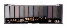 Rimmel London Magnif Eyes, Contouring Palette, akių šešėliai moterims, 14,16g, (003 Smoke Edition)