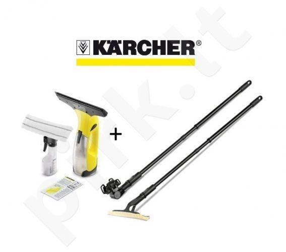 Langų valytuvas Karcher WV 2 Plus + Prailginimo kotas