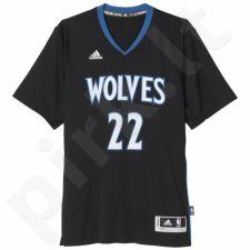 Marškinėliai krepšiniui Adidas Swingman Minnesota Timberwolves Andrew Wiggins M A69838