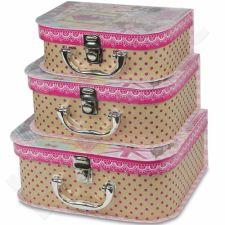 Dekoratyvinės dėžutės, 3 vnt. 104063