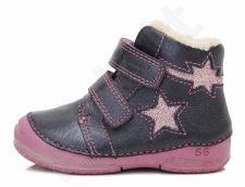 D.D. step mėlyni batai su pašiltinimu 19-24 d. 038252bu