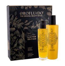 Orofluido Beauty Elixir, rinkinys plaukų aliejus ir serumas moterims, (Original Elixir 100 ml + šampūnas 200 ml)