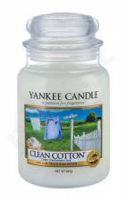 Yankee Candle Clean Cotton, aromatizuota žvakė moterims ir vyrams, 623g