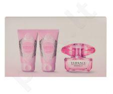 Versace Bright Crystal Absolu rinkinys moterims, (EDP 50ml + 50ml kūno losjonas + 50ml dušo želė)