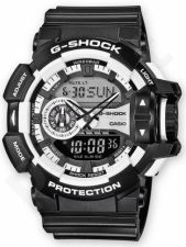 Laikrodis CASIO G-SHOCK GA-400-1ADR G-CLASSIC Shock & Magnetic resistant Resin Case & Strap Auto led World time 29 zon 5 daily s Snooze Hourly Time Signal Countdown Timer Full auto-calendar W