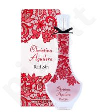 Christina Aguilera Red Sin, EDP moterims, 100ml