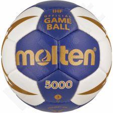Rankinio kamuolys Molten H3X5000-BW
