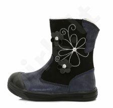 D.D. step juodi batai su pašiltinimu 22-27 d. da031344