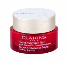 Clarins Super Restorative, Night, naktinis kremas moterims, 50ml