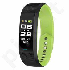 Vaikiškas, Moteriškas, Vyriškas laikrodis SKMEI  B25BKGN Black/Green