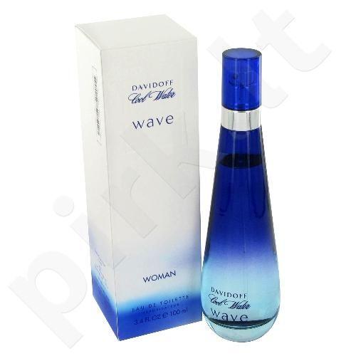 Davidoff Cool Water Wave, tualetinis vanduo (EDT) moterims, 100 ml