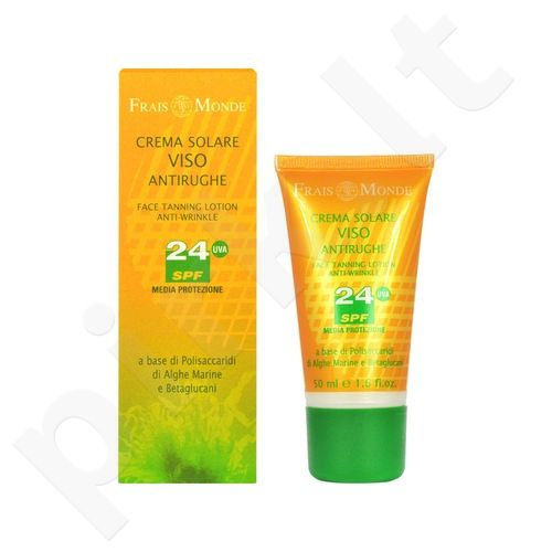 Frais Monde Face Tanning Lotion Anti-Wrinkle SPF24, kosmetika moterims, 50ml